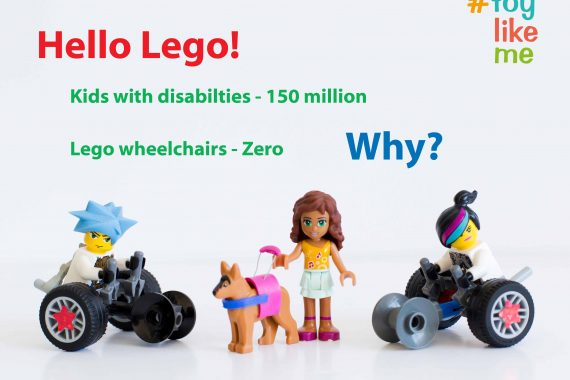 Press Release – Lego Unveil Wheelchair-Using Minifigure in Response to #ToyLikeMe Campaign